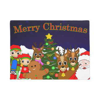 Lunar and Willow's Christmas Wish Doormat