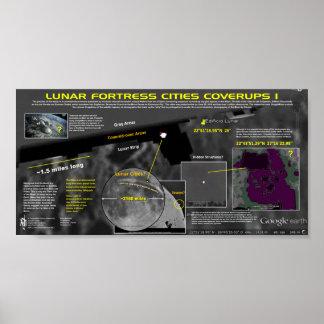 Lunar City Complexes Poster