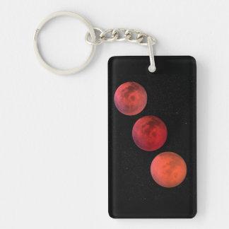 Lunar Eclipse Key Ring