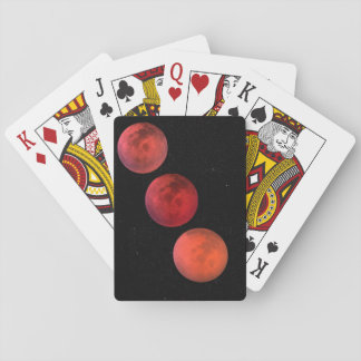 Lunar Eclipse Playing Cards