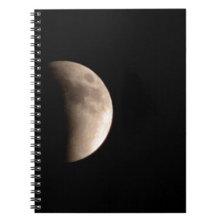 Lunar Eclipse with Craters Notebook