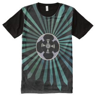 Lunar Flower All-Over Print T-Shirt