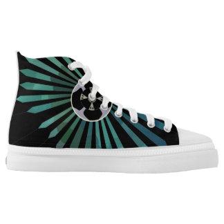 Lunar Flower Printed Shoes