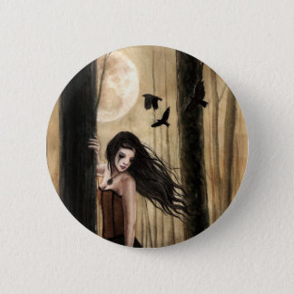 Lunar Lament Gothic Button