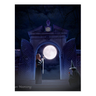 Lunar Love Postcard