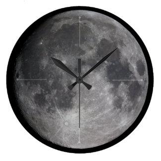 Lunar Magnificence Large Clock