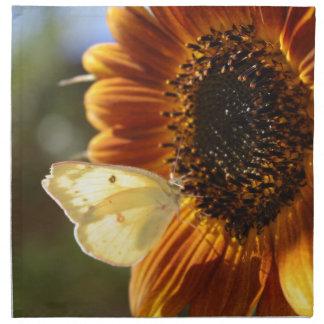 Lunar Moth Sun Landing Napkin
