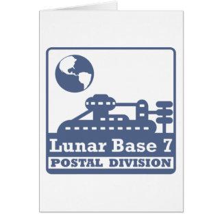 Lunar Postal Division Greeting Card
