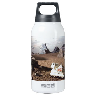 LUNAR SCAPE - MARS NASA MISSION 10 OZ INSULATED SIGG THERMOS WATER BOTTLE