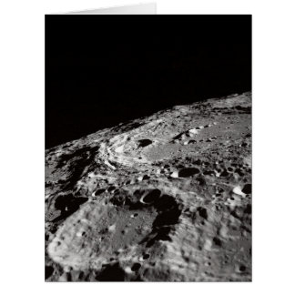 lunar surface card