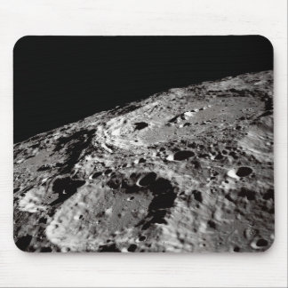 lunar surface mouse pad