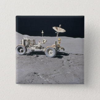 Lunar Vehicle 15 Cm Square Badge