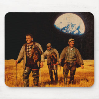 Lunarscape Collage Mousepad