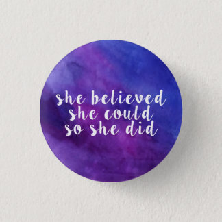 Luna's Inspirational Button