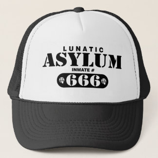 Lunatic Asylum for light shirts Trucker Hat