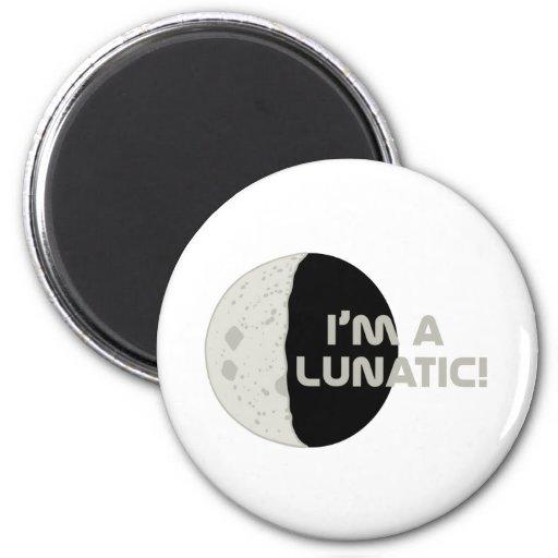 Lunatic! Refrigerator Magnets