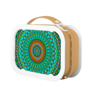 Lunch Box Geometric Mandala G388