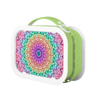 Lunch Box Mandala Mehndi Style G379