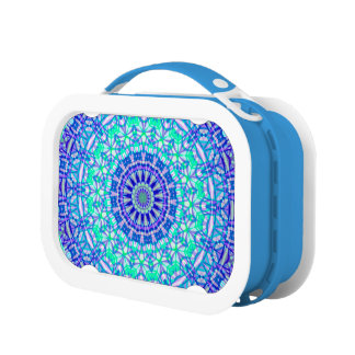 Lunch Box Tribal Mandala G389