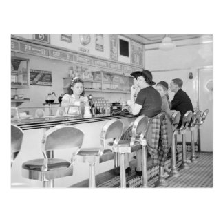 Lunch Counter 1941 Post Cards