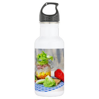 Lunch in a glass 532 ml water bottle