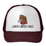 Lunch Ladies Rule School Brown Bag Lunchbox Hat