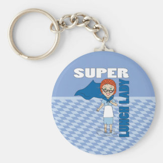 Lunch Lady - Super Lunch Lady Key Ring