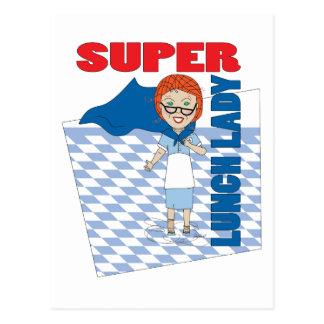 Lunch Lady - Super Lunch Lady Postcard