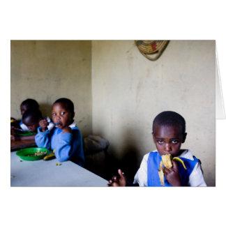 Lunch, Saidia Orphanage Card