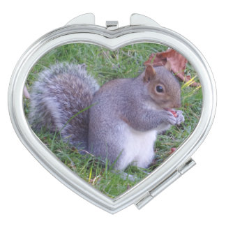 Lunch Time Heart Compact Mirror