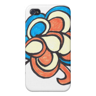 'Lunch time kids colorin' phone cover iPhone 4 Covers