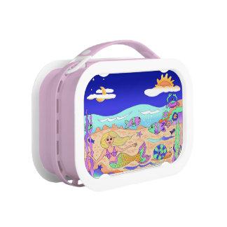 Lunchbox with mermaid print