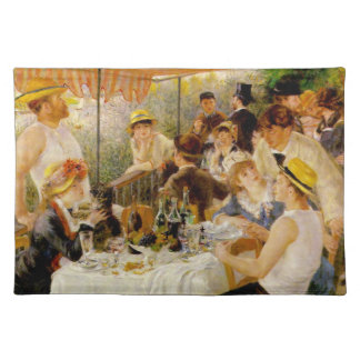 Luncheon of the Boating Party- Auguste Renoir Placemat