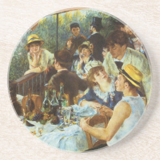 Luncheon of the Boating Party by Pierre Renoir Coasters