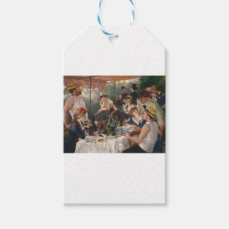 Luncheon Of The Boating Party Gift Tags