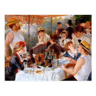Luncheon of the Boating Party Post Card