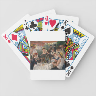 Luncheon of the Boating Party - Renoir Bicycle Playing Cards