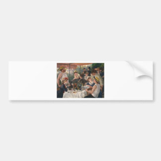 Luncheon of the Boating Party - Renoir Bumper Sticker