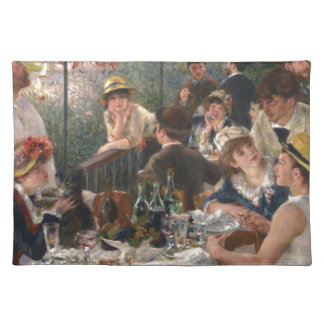 Luncheon of the Boating Party - Renoir Placemats