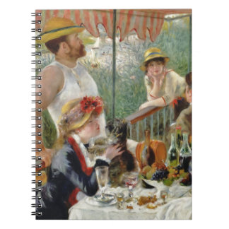 Luncheon of the Boating Party Vintage Renoir Notebooks