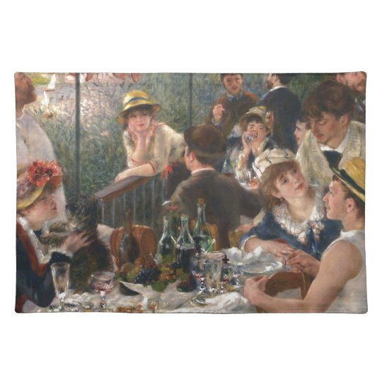 Luncheon of the Boating Party Vintage - Renoir Placemat
