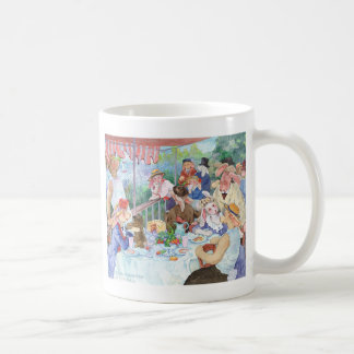 Luncheon of the Bunny Party Coffee Mug