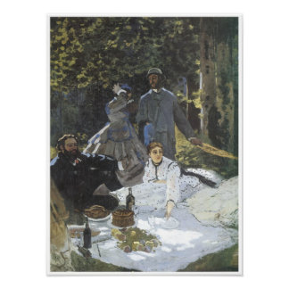 Luncheon on the Grass, 1865 Poster