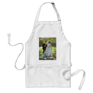 Luncheon on the Grass Claude Monet Apron