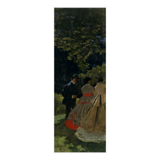 Luncheon on the Grass Left Panel 1865 Posters