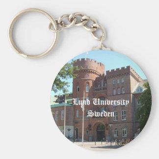 Lund University Castle Key Ring