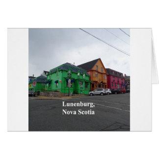 Lunenburg colors card