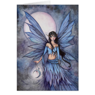 Lunetta Celestial Fairy Fantasy Art Illustration Card