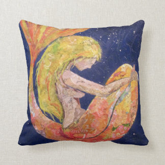 """Lunette"" mermaid pillow"