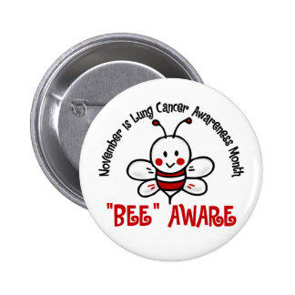 Lung Cancer Awareness Month Bee 1 2 Pin